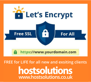 Free Let's Encypt SSL Certificates from Host Solutions